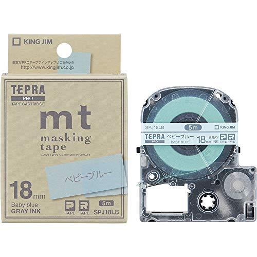 Jim King Tape Cartridge tepura Pro Masking Tape MT 18mm Baby Blue spj18lb