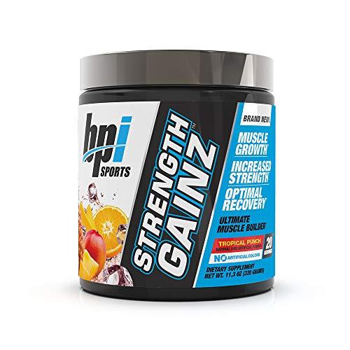 BPI Sports Strength Gainz Tropical Punchm, 11.3 Ounce