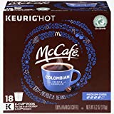 McCafe Colombian Keurig K Cup Coffee Pods (72 Count, 4 Boxes of 18)