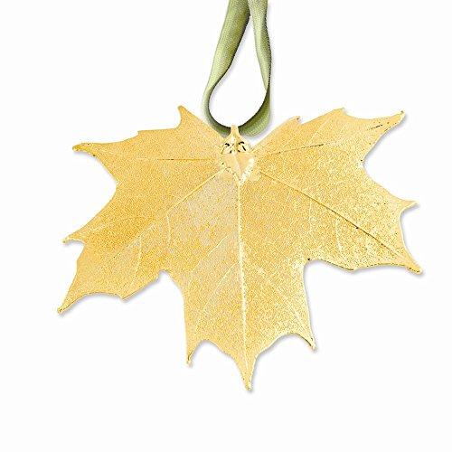 RoseCharm Schöne Gold 24k getauchte Zuckerahorn Dekorative Blatt
