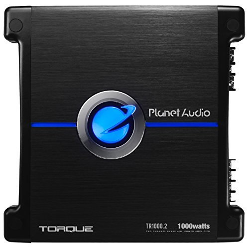 Check Out This Planet Audio TR1000.2 2 Channel Car Amplifier - 1000 Watts, Full Range, Class A/B, 2/...