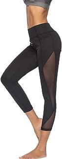 Aribelly High Waist Tummy Control Yoga Pants,Stretch Yoga Capris Pants Leggings