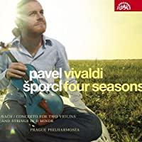 Vivaldi: Le Quattro Stagioni (Four Seasons)/Bach: Concerto for Two Violins and Strings by Pavel Sporcl (2008-02-26)