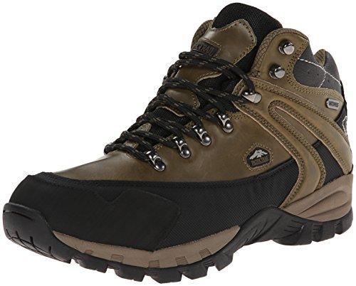 Pacific Trail Men's Rainier Waterproof Hiking Boot, Olive/Black, 8 M US
