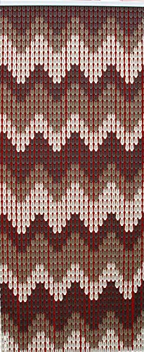 Tata Home Tenda Antimosche a Piastrine per Porta Finestra Moschiera a Pannello Misura 140 x 230 cm. Dis. 22