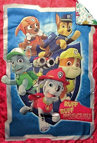 Paw Patrol All Paws On Deck (COMFORTER ONLY) Size TODDLER Girls Kids Bedding