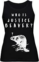 graphke Who is Justice Beaver? Women's Tank Top