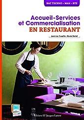 Accueil service et commercialisation en restaurant de Jean-Luc Frusetta