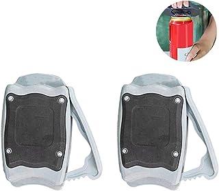 Abrebotellas multifunción Fovor, abrelatas manual sin topless – abridores manuales de seguridad fácil y sin esfuerzo para bares, hogar, herramienta de cocina 2 unidades.