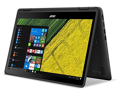 """Acer Spin 5, 13.3"""" Full HD Touch, 7th Gen Intel Core i5, 8GB DDR4, 256GB SSD, Windows 10, Convertible, SP513-51-53FC"""
