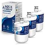 AQUACREST 5231JA2002A Refrigerator Water Filter, NSF 401, 53&42 Certified to Reduce 13 Contaminants, Compatible with LG LT500P, ADQ72910901(907), Kenmore 9890, 46-9890 (Pack of 3, Packing May vary)