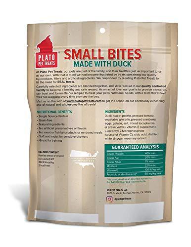 Plato Small Bites Natural Duck 10.5Oz