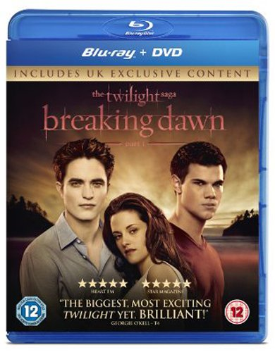 The Twilight Saga: Breaking Dawn - Part 1 - Double Play (Blu-ray + DVD) [UK Import] [VHS]