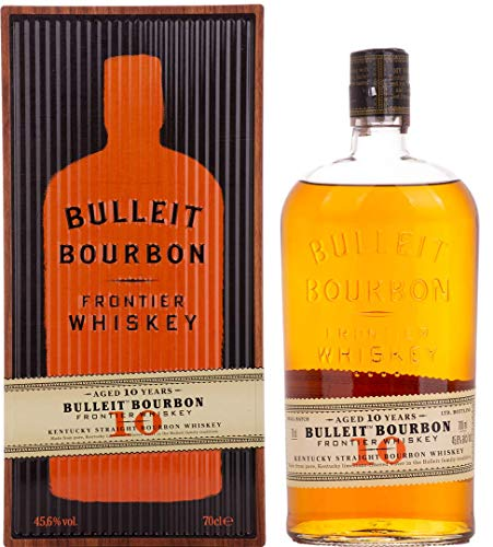 Bulleit Bourbon 10 Years Old FRONTIER WHISKEY Kentucky Straight Bourbon (1 x 0.7 l)