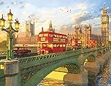 Springbok 500 Piece Jigsaw Puzzle Westminster Bridge, Multi