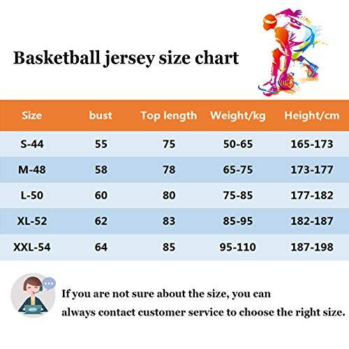 DRBY Camiseta de baloncesto para hombre, de Nets Irving #11, sin mangas, para hombre, de Durant # 7, edición de la ciudad, color blanco, B-M