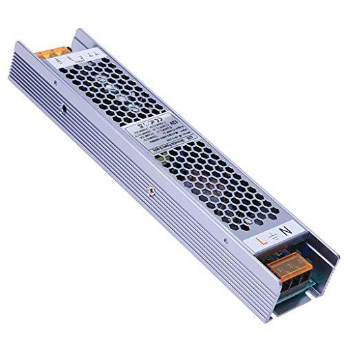 YAYZA! Compacto IP20 12V 8.3A 100W Regulable Transformador de Bajo Voltaje Fuente Alimentación Conmutación de CA/CC Adaptador Módulo PSU Admite 2 en 1 Control de Iluminación Atenuación TRIAC y 0-10V