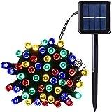 Salcar Guirlande lumineuse solaire LED pour décoration de jardin