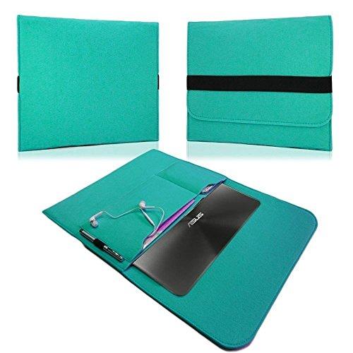 NAUC HP EliteBook Folio G1 12,5 Zoll Tasche Hülle Filz Sleeve Schutzhülle Hülle Cover, Farben:Mint