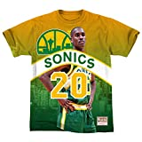 Mitchell & Ness NBA Seattle Supersonics Gary Payton City Pride - Camiseta para hombre