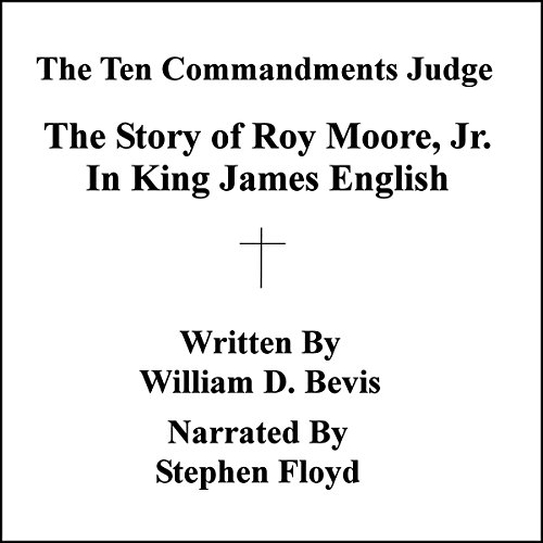 The Ten Commandments Judge audiobook cover art