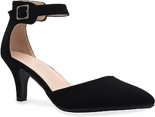 Women's Sexy Glitter Rhinestone D'Orsay Ankle Strap...