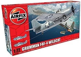 Airfix 1:72nd Scale WWII Grumman F4F-4 Wildcat Plastic Model Kit by Airfix