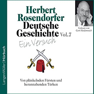 Von plänkelnden Fürsten und herannahenden Türken audiobook cover art