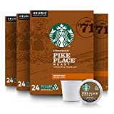 Starbucks Medium Roast K-Cup Coffee Pods — Pike Place...