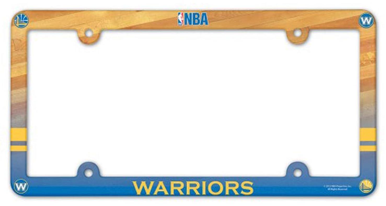 WinCraft Golden State Warriors Plastic License Plate Frame