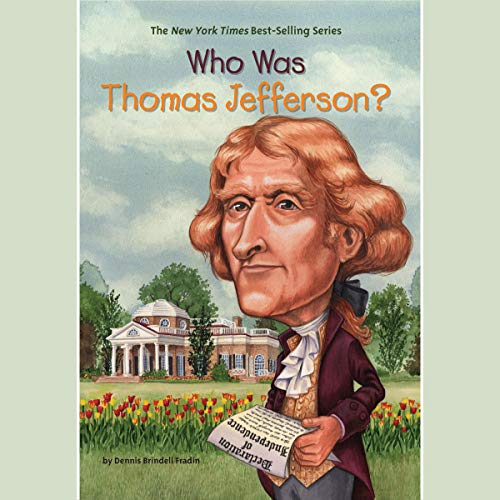 Who Was Thomas Jefferson? audiobook cover art