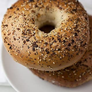 12 Fresh New York Bagels - Everything