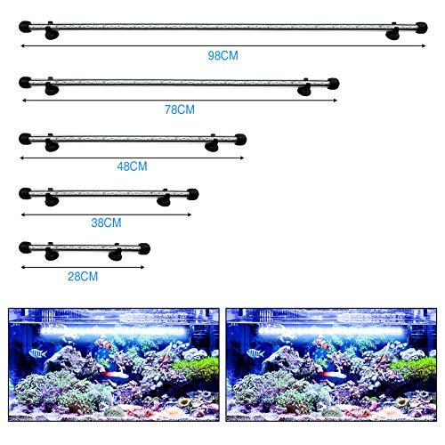 DOCEAN LED Aquarium Lights, Waterproof Fish Tank Light