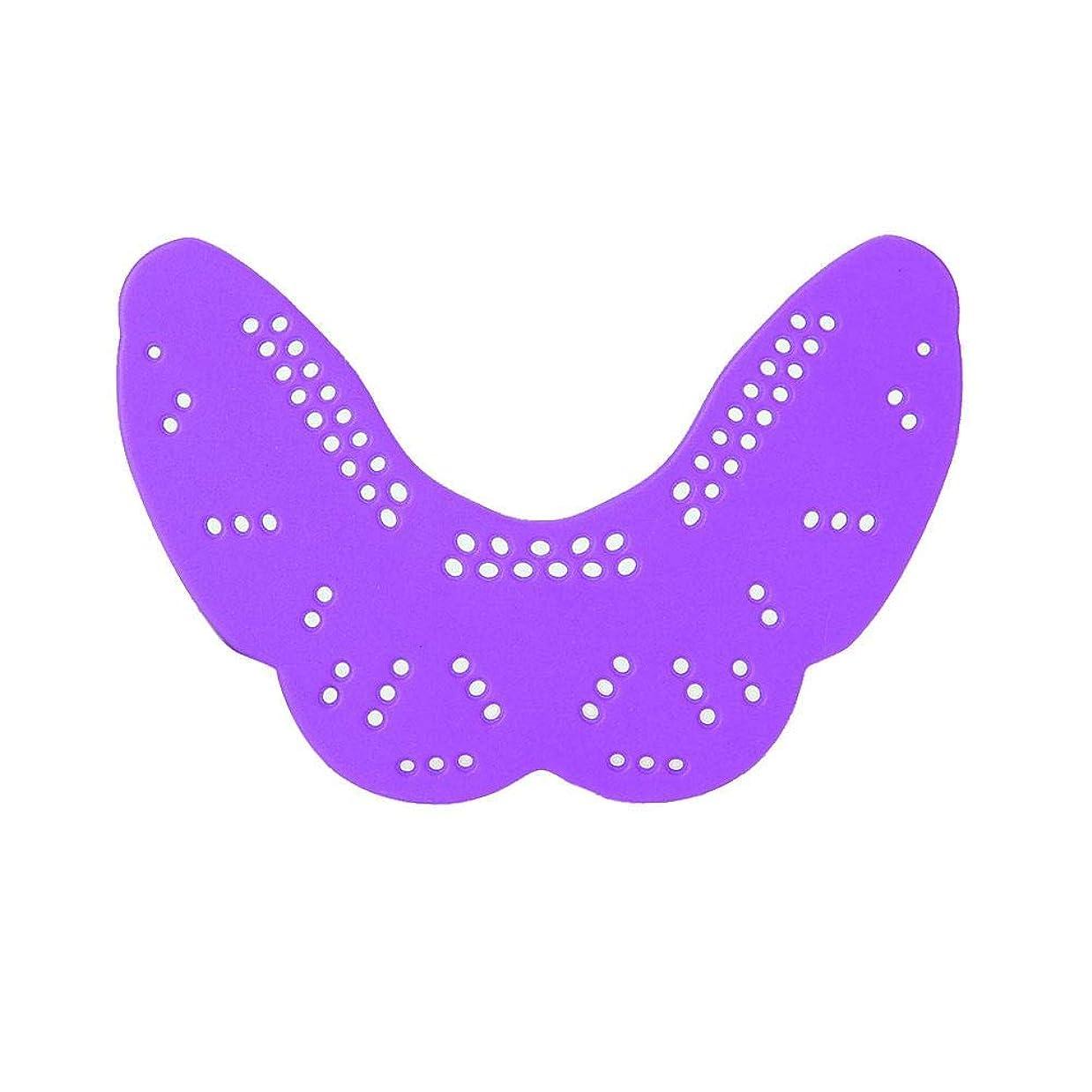 前兆人道的パパマウスガード、歯のプロテクターボクシング保護ツールあなたの歯の形状に最適フットボールバスケットボールラクロスホッケーボクシング柔術(紫の)