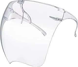 Full Face Covering Sunglasses Anti Fog Goggle Visor UV Protection Face Shield for Unisex Adults Indoor Outdoor Activities
