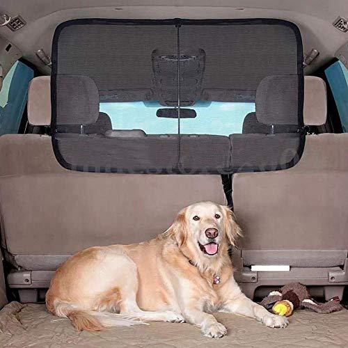 Malla de Barrera para Mascotas - Malla de la Barrera de la Red del Coche del Animal doméstico del Viaje del Animal doméstico del Viaje Durable Seguro Universal útil para el camión Van Sedan SUV