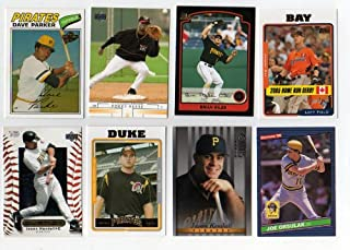 Lot of 100 Different Pittsburgh Pirates Baseball Cards [Misc.]