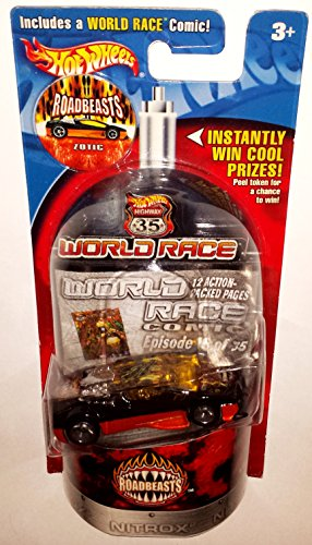 Hot Wheels Zotic World Race Highway 35 Ultimate Race Track Car 16/35 Nos 2002