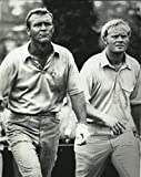 Golf Collectibles Jack Nicklaus and Arnold Palmer - 8'x10' Photo, Mounted in 11'x14' Double Matt and Framed with Plexi Glass