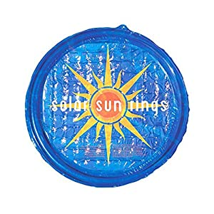 ABSORBS SUNLIGHT: Solar Sun Ring is composed of two sheets of UV-resistant vinyl that convert solar energy into heat, adding free heat to your pool with only the power of the sun RETAINS HEAT AND WATER CHEMISTRY: This solar blanket cover retains heat...