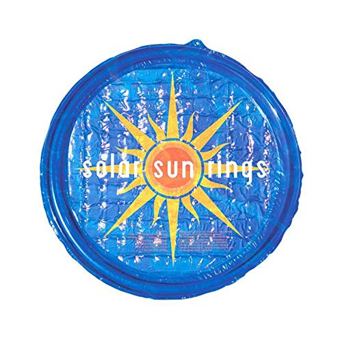 Solar Sun Rings UV Resistant Above Ground Inground Swimming Pool Hot Tub Spa Heating Accessory Circular Heater Solar Cover, Blue