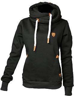 Hubertus hunting hoodie voor dames, olijfgroen