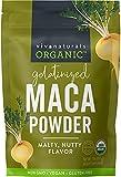 Organic Maca Powder 1lb (16 oz) Gluten Free Gelatinized Maca Powder for Easier Digestion, Certified Organic & Non-GMO