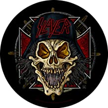 Slayer Wehrmacht Circular Back Patch.