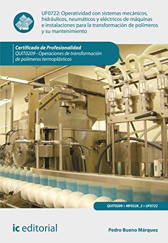 Operatividad con sistemas mecánicos, hidráulicos, neumáticos y eléctricos de máquinas e instalaciones...