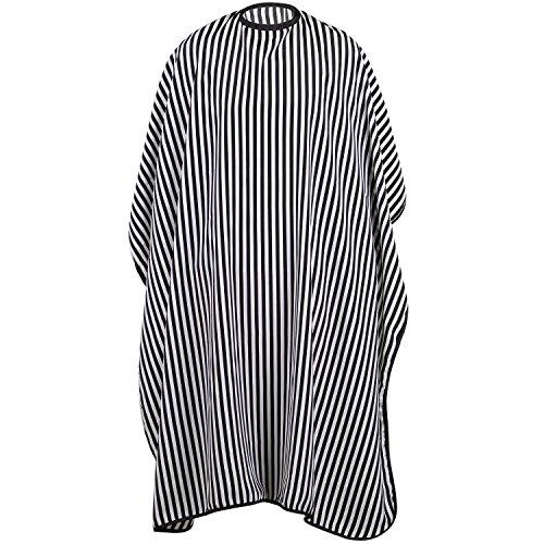 TRIXES Vestido de Peluquería Largo Completo - Negro y