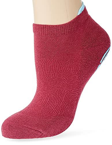 FALKE Damen Hausschuh-Socken Relax Pads, Baumwolle, 1 Paar, Lila (Plum Pie 8407), 39-42 (UK 5.5-8 Ι US 8-10.5)