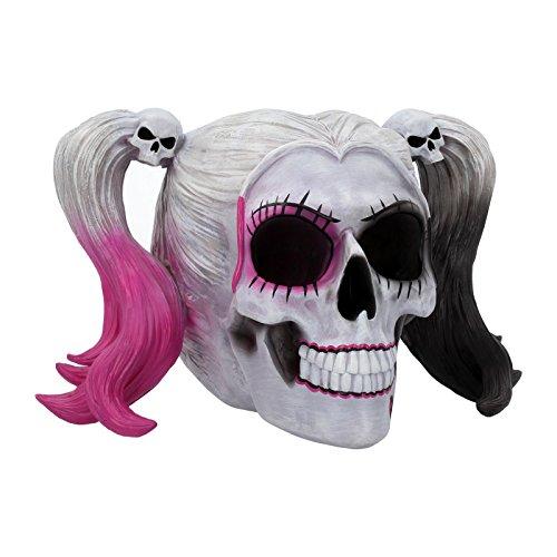 Nemesis Now Skull Figurine 17cm White Figur Little Monster Totenkopf, 17 cm, Weiß, Kunstharz, Einheitsgröße