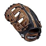 Wilson A2000 12.5-Inch SuperSkin Baseball Glove, Saddle Tan/Black, Right (Left Hand Throw)