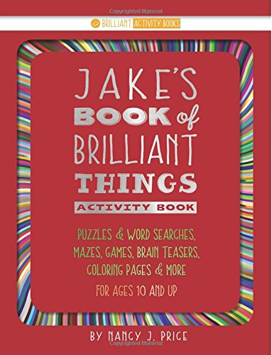 Book of Brilliant Things Activity Book: Jake (Volume 2)